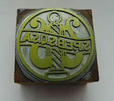 Printing Letterpress Printers Block S P E B S Q S A