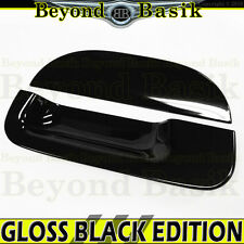 1997-2003 FORD F150 GLOSS BLACK Tailgate Handle Cover Overlay Trim W/o Keyhole