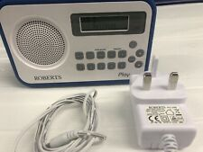 Roberts Radio Play Digital with DAB/DAB+/FM RDS, Battery and Charger