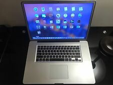 Apple MacBook Pro 17 Quad CORE i7 Pre-Retina Mac OS-2016 16GB RAM 1TB SSD HYBRID