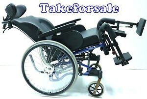 Pflegerollstuhl Alu Rehab Netti 4U ICE Rollstuhl Sitzbreite 35 cm TFS181