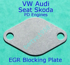 EGR Valve Blanking Plate 1.5mm T4 T5 T25 Transporter A3 A4 Golf R5 TDi PD Only