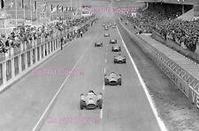 Collins & Castellotti Lancia Ferrari D50 Francés Grand Prix 1956 fotografía