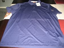 MENS PUMA SHORT SLEEVE POLO USP DRY SHIRT SIZE L LARGE BLUE RIBBON  NWT