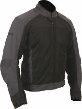 Weise Air Spin Evo Mens Black Waterproof Textile Motorcycle Jacket New RRP £130!