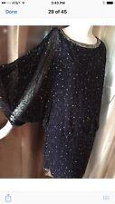 JKARA New York Dress New W Tag Viomer-Blue Sz 14