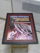 Ralph Sampson Virginia Signed 11x14 Framed Photo NBA Houston Rockets HOF