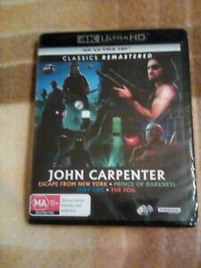 John Carpenter: Escape From New York/Prince Of Darkness/They Live/The Fog - 4K