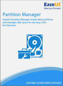 EaseUS Partition Masterr 15.0 + Lifetime Key + EaseUS Account