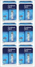 Contour Next Bayer Blood Glucose Test Strips (6 Boxes of 50) Ex. date 3/31/2022