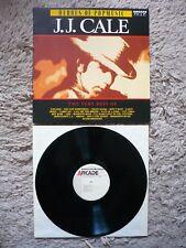 J.J. Cale The Very Best Of Vinyl 1988 Arcade Dutch Import LP EXC+ Heroes Of Pop