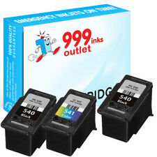 PG-540XL and CL-541XL Remanufactured ink for Canon Pixma MG3350 MG3600 - 3 Pack