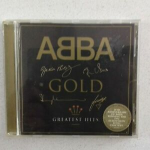 ABBA GOLD  1992 AUSTRALIAN GREATEST HITS LIMITED EDITION SIGNATURE EDITION CD