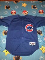 AUTHENTIC Mens Majestic Chicago Cubs Aramis Ramirez Jersey Size 56