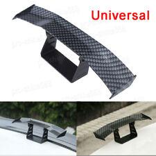 Hot Universal Mini Spoiler Car Rear Tail Decoration Spoiler Wing Fiber Carbon
