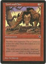 MTG: *TOOTH AND CLAW* - Tempest - Magic the Gathering - Combined shipping! CCG