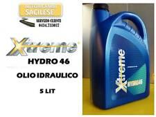 OLIO IDRAULICO XTREME HIDRO 46 TANICA 5 LIT. DIN 51524 PI/PII ISO 11158HL