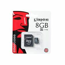 Kingston Micro SD 8GB SDHC MICROSDHC Memory Card HTC Mobile Phone Class 4