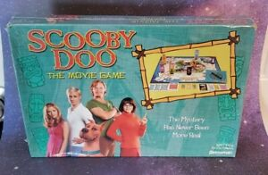Pressman Scooby-Doo The Movie Board Game 2002 SEALED