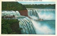 DB Postcard NY I198 Niagara Falls from Prospect Park New York Scenic View