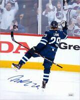 "~~ PATRIK LAINE Authentic Hand-Signed ""Winnipeg Jets"" 8x10 Photo (JSA COA) C~~"