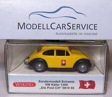 """Wiking Sondermodell Schweiz: 081059 VW Käfer 1200 """"PTT - Die Post Schweiz"""""""