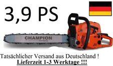 3,9 PS starke Kettensäge Motorsäge von Champion - LEICHT UND KRÄFTIG ! -  TOP !