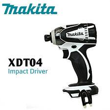 "Makita ""A Grade""  XDT04 Z 18V LXT Li Ion Impact Driver w/ WARRANTY"
