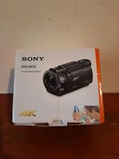 👀Sony FDR-AX33 4K Camcorder Black With Charger