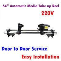 "64"" Automatic Media Take up Reel for Mutoh/ Mimaki / Roland / Epson Printer 220V"