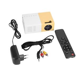 Handheld projector 1080p Mini Private Home Theater Multimedia AV HDMI USB UK