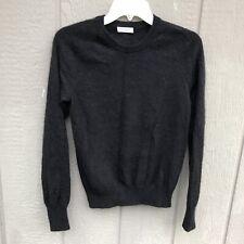 Equipment Femme Women Black 100% Cashmere Pullover Crew Sweater Small