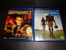 SPEED & THE BLIND SIDE-2 movies-SANDRA BULLOCK, KEANU REEVES, TIM McGRAW
