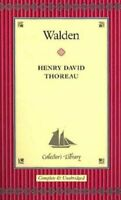 Walden (Collector's library) by Henry David Thoreau Hardback Book The Fast Free