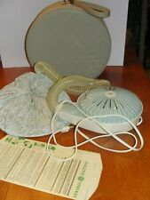 Vintage General Electric GE 1960's Hair Dryer Model HD-5B Complete w/Case Box