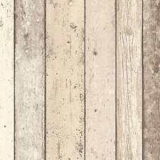 Carta da parati effetto legno naturale effetto invecchiato Realistico Grana di legno CABINA IN VINILE