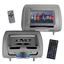 """TVIEW T737DVPLGR  Tview 7"""" In Headrest Monitor with DVD Player Built in Speak..."""