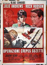 original movie poster DARLING LILI Julie Andrews Rock Hudson Blake Edwards 1970