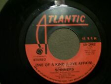 SPINNERS ONE OF A KIND & DON'T LET THE GREEN GRASS FOOL YOU 45 ATLANTIC 2962