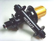 """Super light 257g """"8 sealed bearing"""" 6 pawl Road Bike Hubs 20/24 Shimano black"""