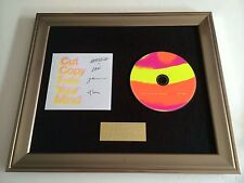 PERSONALLY SIGNED/AUTOGRAPHED CUT COPY - FREE YOUR MIND FRAMED CD PRESENTATION.