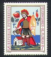 Austria 1998 San Floriano/Santi/POMPIERI/ARTE/PITTURA/di emergenza 1 V (n37646)