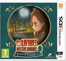 Layton's Mystery Journey: Katrielle 3DS