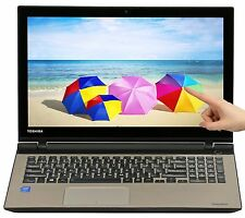 "Toshiba Satellite 15.6"" Touch i7 Core 2.4GHz 16GB 1TB HDD DVD+-RW Win 8"