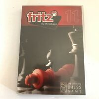 The Ultimate Chess Game FRITZ CHESS 11th Edition Windows XP/Vista PC DVD