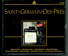 MFD IN FRANCE BLACK LINE REC 2 CD BOX FUTURE JAZZ POP : SAINT-GERMAIN-DES-PRES