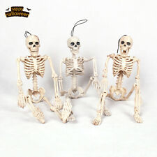 Plastic Jointed Human Body Skeleton Decoration Halloween Party Prop Decoration
