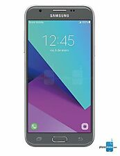 "Virgin Mobile Samsung Galaxy J3 Emerge 5"" - No Contract Phone - Silver"