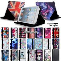 Smart Leather Stand Cover Case For Apple ipad 123456 /mini 1234/Air 12/Pro 9.7""