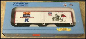 Ho Scale NFL Arizona Cardinals Car MANTUA COLLECTIBLE New in Box